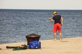 Pescador — Fotografia Stock