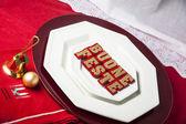 Happy Holidays in Italian — Stock Photo
