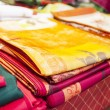 Colored cloths — Stock Photo