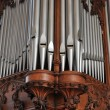Pipe Organ Pipes - Stock Photo