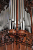 Pipe Organ Pipes — Stock Photo