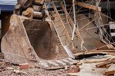 Demolición de edificio — Foto de Stock