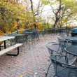 Stock Photo: Park Patio