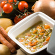 Minestrone - Italivegetable soup — Stock Photo #18761259