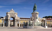Plaza do comercio - Lisbon (Portugal) — Stock Photo