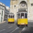 Tramway in Lisbon (Portugal) — Stock Photo