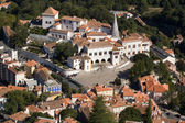 Palacio Nacional de Sintra (Portugal) — Stock Photo