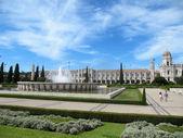 Monastero dos Jeronimos - Lisbon (Portugal) — Stock Photo