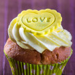 Sweet cupcake — Stock Photo