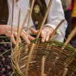 Stock Photo: Basket-maker