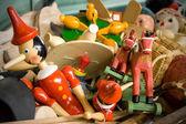 Brinquedos antigos — Foto Stock