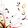 Best wishes 2013 — Stock Photo #12866265