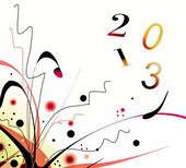 Best wishes 2013 — Foto de Stock