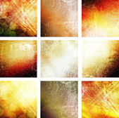 Grungy fire atmosphere backgrounds — Stock Photo