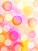 Joyful and colorful bubbles background — Foto Stock