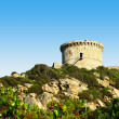 Typical genoese tower of Corsica — Stock Photo #22649267