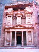 Petra, in Jordan — Stock Photo