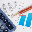 Business accounting and finance - Foto Stock