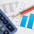 Business accounting and finance — Stok fotoğraf