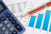 Business accounting and finance — Stockfoto