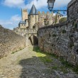 La Cite, Carcassonne - Stock Photo