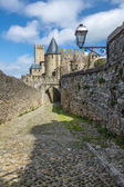 La Cite, Carcassonne — Stock Photo