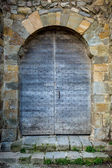 Old medieval gate. Carcassonne — Stock Photo