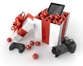 Technology gifts — Stock Photo