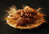 Ekmek ve rulolar — Stok fotoğraf