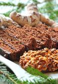 Peperkoek en cookies — Stockfoto
