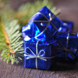 Little Christmas packages — Stock Photo