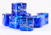 Little Christmas packages — Stock fotografie