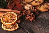 Christmas food ingredients — Stock Photo