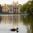 Stock Photo: Royal Palace on water in Warsaw