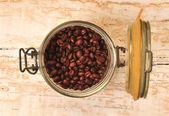 Coffee bean in jar — Stock Photo