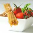 Italian cuisine  - spaghetti — Stock Photo