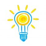 icon glühbirne — Stockvektor