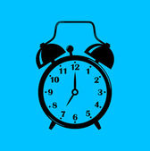 Alarm clock — Vector de stock