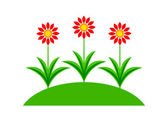 Flower icon — Stock Vector
