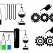Stock Vector: Industrial icons