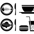 Food and drink icons — Stock Vector #15693817