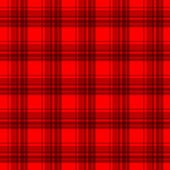 Red flannel background — Stock Vector