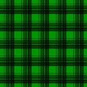 Green flannel background — Stock Vector