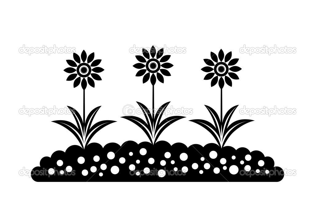 цветок значок: