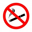 Stock Vector: No smoking