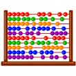 Abacus icon — Stock Vector
