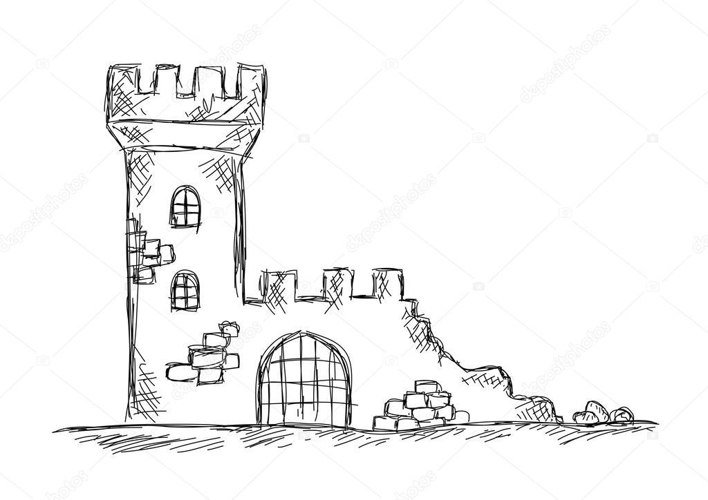 Рисованные руины