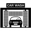 Stock Vector: car wash