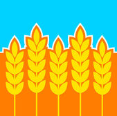 Agricultural icon — Stock Vector