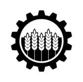 Icono industrial y agrícola — Vector de stock